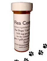 Flea Control and Killer Combo 6 Nitenpyram + 6 Lufenuron for Dogs 60-80 lb