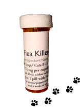Flea Killer Nitenpyram 6 month supply for Dogs 81-125 lb + 1 Free Flea Killer