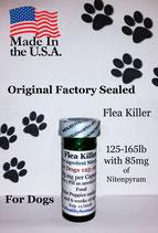 Bulk 100 flea killer,125-165mg with 85mg Nitenpyram