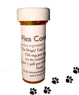 Flea Control and Killer Combo 12 Nitenpyram + 12 Lufenuron for Dogs 91-125 lb