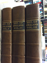 A complete History of England: With the lives of all the Kings and Queens. 3 voll.