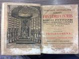 Struvii Gotthelfii Burcardi. Historia Iuris romani iustinianei graeci germanici canonici feudalis criminalis et publici.