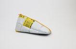 White Triangle Pencil Case