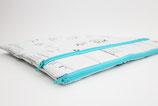 """White Laptop Case 13""""-17"""", sustainable"""