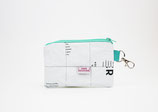 White Mask Pouch, recycled
