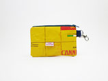 Yellow Mask Pouch, sustainable