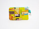 Yellow Mask Pouch, reusable