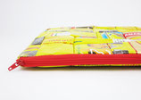 Yellow, recycled Laptop Case