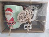 Set Tazza Babbo Natale con stencil e grattugia Kitchen Goods