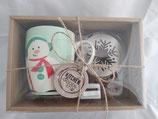 Set Tazza Pupazzo di Neve con stencil e grattugia Kitchen Goods
