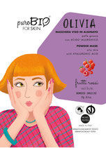 Olivia Maschera in Alginato per Pelle Grassa puroBIO (3 Varianti)