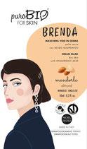 Brenda Maschera in Crema per Pelle Secca puroBIO (3 Varianti)