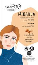 Miranda Maschera Viso in Crema per Pelle Grassa puroBIO (3 Varianti)