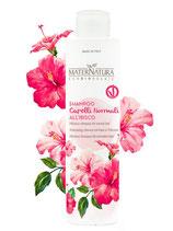 Shampoo Capelli Normali all'Ibisco MaterNatura