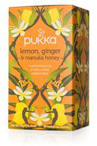 Lemon, Ginger & Manuka Honey Pukka