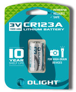 BATTERIE OLIGHT CR123A 1600mAh