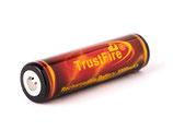 Trustfire 18650 3000mAh 3,6V - 3,7V geschützter Li-Ion-Akku