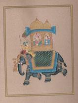細密画(象・輿)