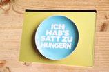 """Postkarte """" Ich habe es satt zu hungern"""""""