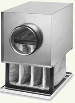Caisson filtre diametre 200mm Helios LFBR F7 pour conduit circulaire