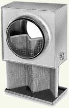Caisson filtre diametre 125mm Helios LFBR G4 pour conduit circulaire