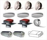 Kit sentinel kinetic vent-axia ventilation double flux haut rendement certifiée NF Ventilation