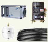 Puits canadien à eau glycolée SEWT 300  - Helios ventilation