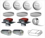 Kit Genvex GES Energy S ventilation double flux haut rendement