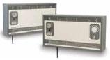 Ventilo-convecteur vintage mural chauffant avec timer HE 6139