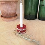 Short mini candle drum