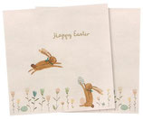 Napkin Happy Easter Field