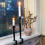 Candle Holder Göte black small/Kerzenhalter zum Anschrauben