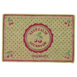Doormat Cherry Berry p.green