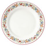 Plate Clementine white