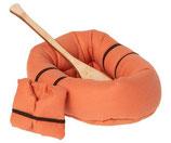 Rubber Boat Orange