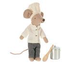 Chef Mouse w.Soup Pot&Spoon(Vorbestellung/Lieferung ab Mitte November 2021)