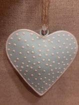 Herz mit Pünktchen