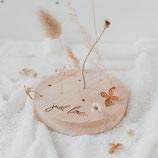 Eulenschnitt Blumenständer rund
