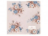 Napkin with lace Marie beige