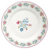 Plate Henrietta white