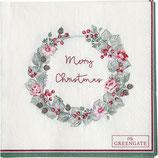 Merry Christmas white(Vorbestellung/Lieferung ab KW32)