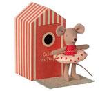 Beach Mice Little Sister in cabin Plage(Vorbestellung/Lieferung ab Juni 2021)
