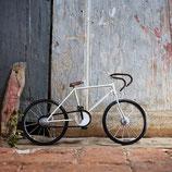 Deko Bicycle Racing white