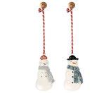 Metall Ornament Snowman (Vorbestellung Lieferung ab Herbst  2021)