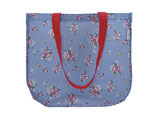 Shopper bag Nicoline dusty blue