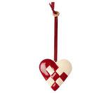 Ornament Braided Heart ( Vorbestellung/Lieferung ab Mitte September 2020)