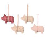 Pig Ornament assorted 2021 (Vorbestellung Lieferung ab Herbst 2021)