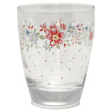 Water Glass Clementine white