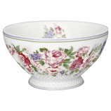 French Bowl x-large Rose white