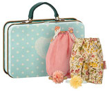Suitcase with two dresses